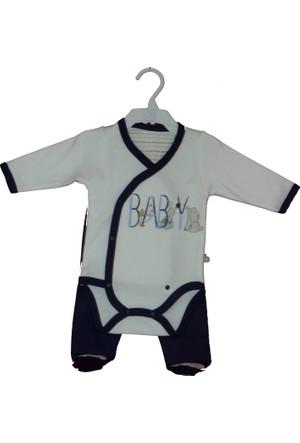 Bibaby Boy Kravuze Badili Alt Lacivert Ekru 0 Ay - 50 cm