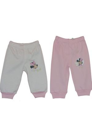 Disneybaby Mini Mouse 2'li Patiksiz Pantolon - Pembe - 9 - 12 Ay
