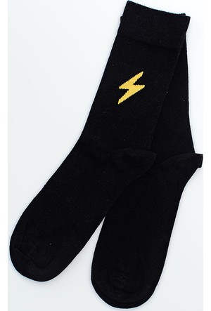 Sportsoul Erkek Çorap Siyah SSSSBLK