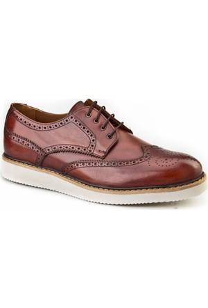 Cabani Oxford Günlük Erkek Ayakkabı Taba Sanetta Deri