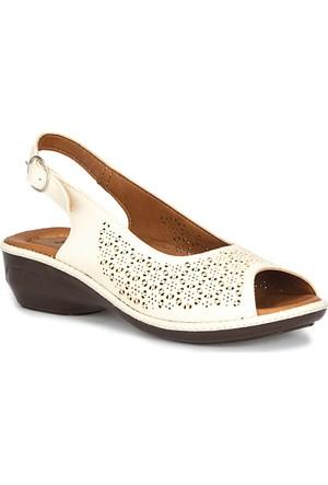 Polaris 71.157333.Z Bej Kadın Sandalet
