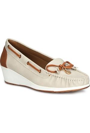 Polaris 71.155559.Z Gri Kadın Ayakkabı