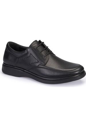 Polaris 5 Nokta 62.104306.M Siyah Erkek Deri Klasik Ayakkabı