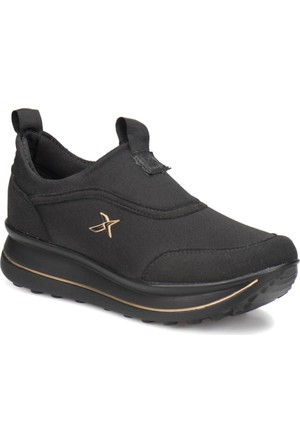 Kinetix Pauleta Siyah Siyah Kadın Ayakkabı