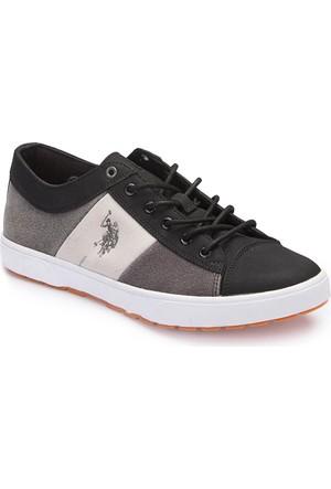 U.S. Polo Assn. A3376639 Siyah Erkek Sneaker Ayakkabı