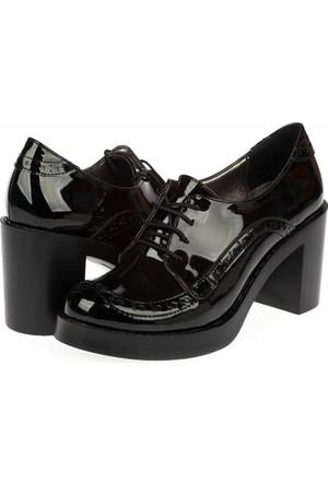 Yarım Elma Kadın Bağcıklı Ayakkabı
