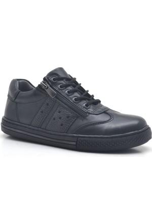 Raker® 3600-S1 %100 Deri Erkek Çocuk Ayakkabısı