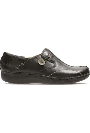 Clarks Un Loop Kadın Ayakkabı Siyah