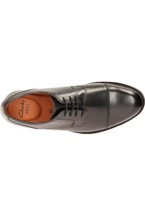 Clarks Beckfield Cap Erkek Ayakkabı Siyah