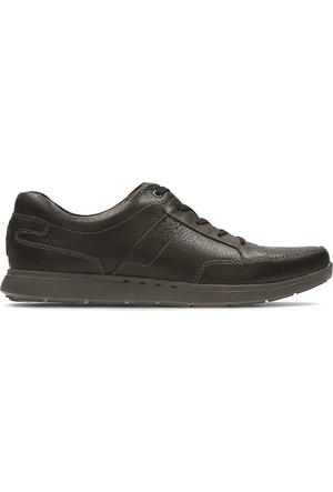 Clarks Unlomac Lace Erkek Ayakkabı Siyah