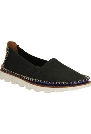 Clarks Damara Chic Kadın Espadril Ayakkabı Siyah
