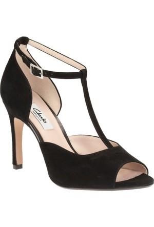 Clarks Curtain Fizz Kadın Sandalet Siyah