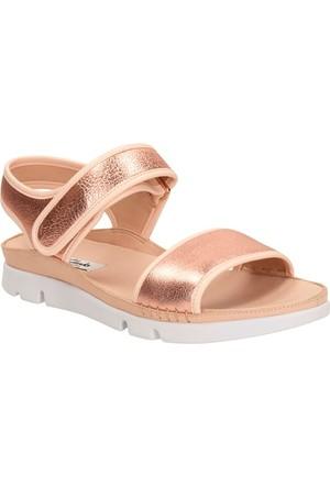 Clarks Tri Nova Kadın Sandalet Pudra