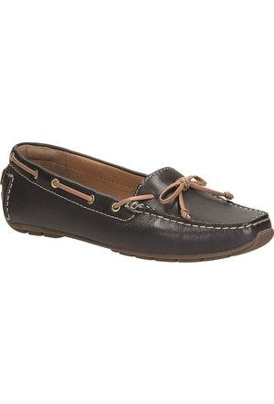 Clarks Dunbar Groove Kadın Loafer Ayakkabı Lacivert