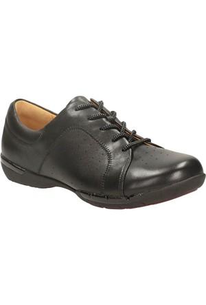 Clarks Un Honey Kadın Ayakkabı Siyah