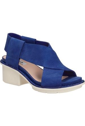Clarks Hexton Gala Kadın Sandalet Mavi