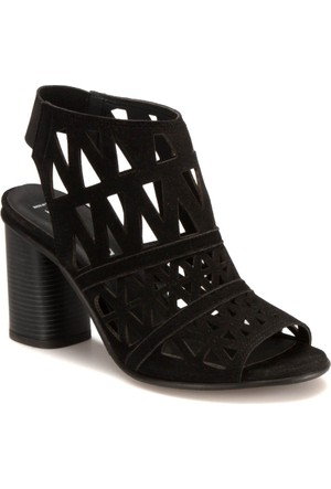 Miss F DS17011 Siyah Kadın 402 Sandalet