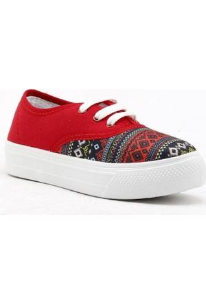 Gezer 02433 Keten Convers Babet Günlük Kız Çocuğu Ayakkabı
