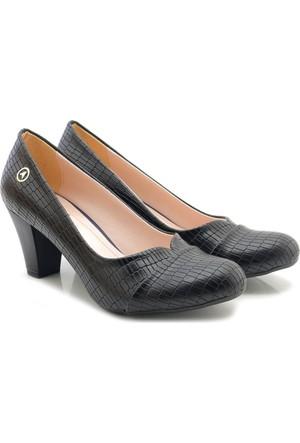 Artemis W-150-001 Siyah Alçak Kadın Ayakkabı
