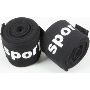 spor724 boks-kickboks spor bandajı elastik bob1 - siyah