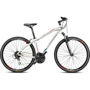 28 kron tx 500 disk fren bisiklet - 46 cm - siyah - gri - beyaz