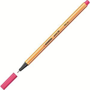 stabilo point 88 keçe uçlu kalem renk - fosforlu pembe