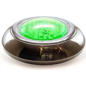 spp led paslanmaz flat havuz lambası - yeşil - standart