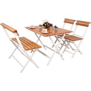 gadahome bahçe balkon masa sandalye takımı ahşap