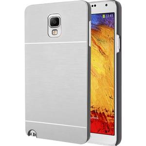 microsonic samsung galaxy note 3 neo kılıf hybrid metal - gümüş