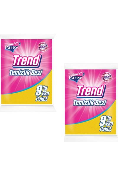 Parex Trend Temizlik Bezi 9'Lu 2 Adet
