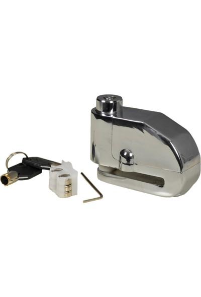 Prc Motosiklet Disk Kilidi Alarmlı Lk-303 Çelik