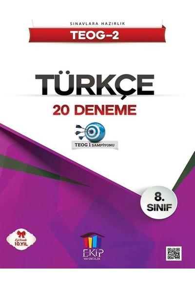 Ekip Yayınları Teog 2 Türkçe 20 Deneme