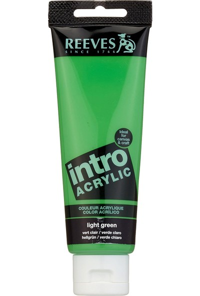 Reeves İntro Akrilik Boya 120Ml - Light Green