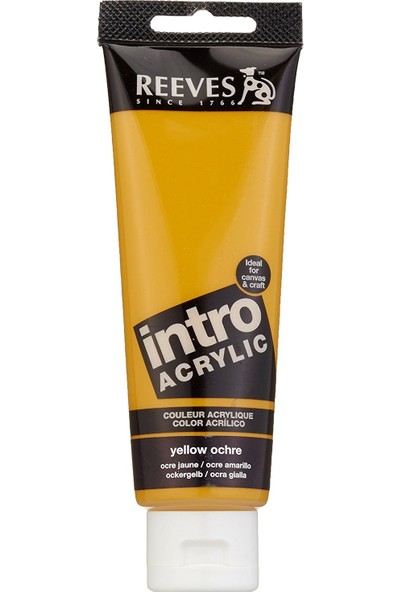 Reeves İntro Akrilik Boya 120Ml - Yellow Ochre