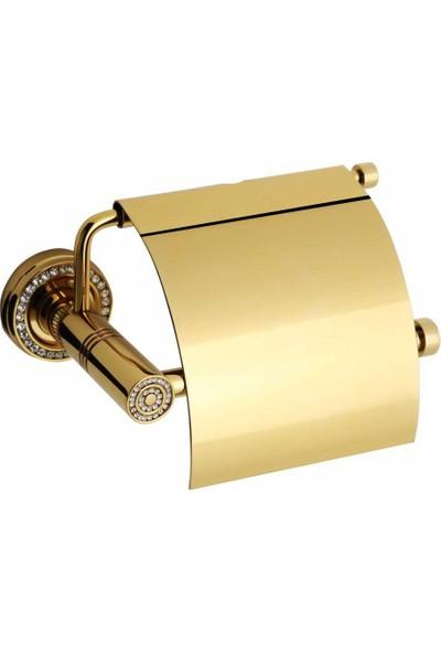 Bauboss Altima Altın Taşlı Kağıtlık Pirinç