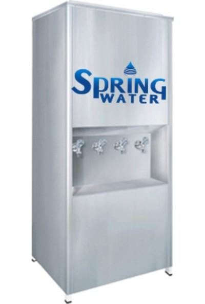 Spring Water Paslanmaz Çelik 300'lük Arıtmalı Su Sebili