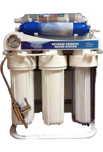 Spring Water Pompalı Su Arıtma Cihazı