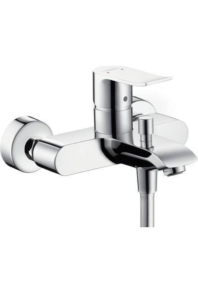 Hansgrohe Metris Tek Kollu Banyo Bataryası Krom