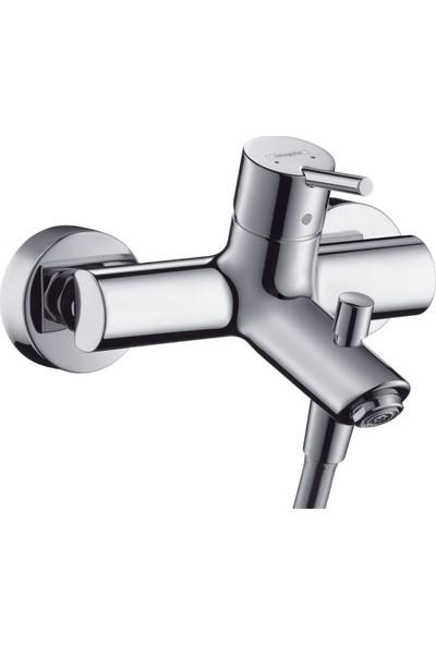 Hansgrohe Talis Tek Kollu Banyo Bataryası Aplike Krom