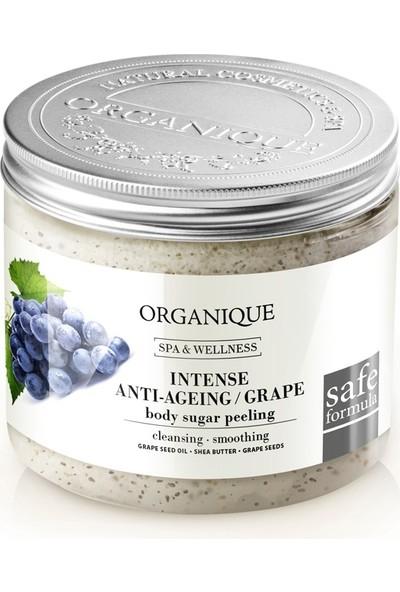 Organique Üzüm Çekirdeği Özlü Anti-Aging Şekerli Peeling - 200 ml