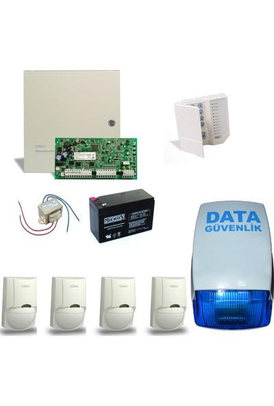 DSC Alarm Sistemi Set 4 - Data Güvenlik