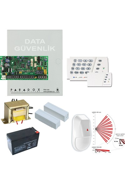 Paradox Alarm Sistemi Set - Data Güvenlik