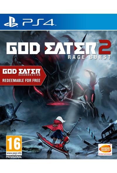 God Eater 2 Rage Burst PS4 Oyun