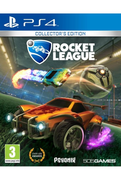 Rocket League Collector's Edition PS4 Oyun