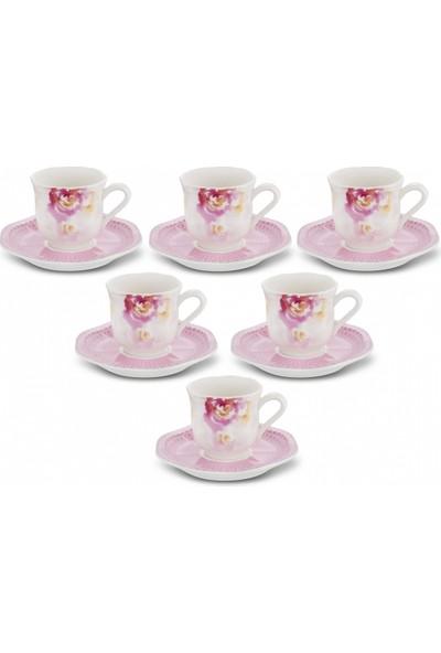 Karaca Pinkrose Kahve Fincan Takımı Ka-004