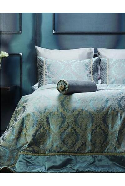 Karaca Home Palace Mavi Yatak Örtüsü
