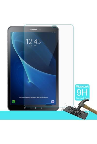 Microsonic Samsung Galaxy Tab A 10.1'' P580 Temperli Cam Ekran koruyucu Kırılmaz film