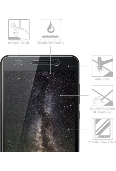 Microsonic Huawei Y6 II Temperli Cam Ekran koruyucu film