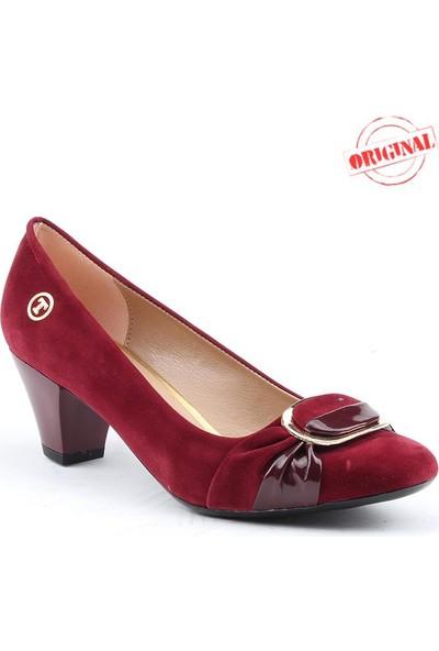 Myzenn 603 Bayan Topuklu Ayakkabı 4,5 cm Günlük Klasik