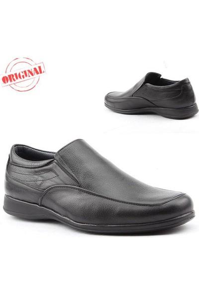 Özsoylu 079 Büyük Numara Erkek Ayakkabı %100 Deri Günlük Klasik
